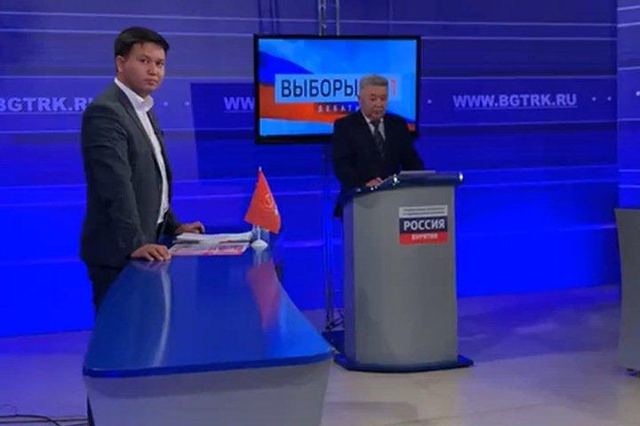 Единоросс и стилист Зверев не пришли на дебаты с коммунистом в Бурятии