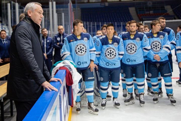 Вице-премьер РФ «поручил» новосибирскому губернатору ввести игроков ХК «Сибирь» в молодежную сборную