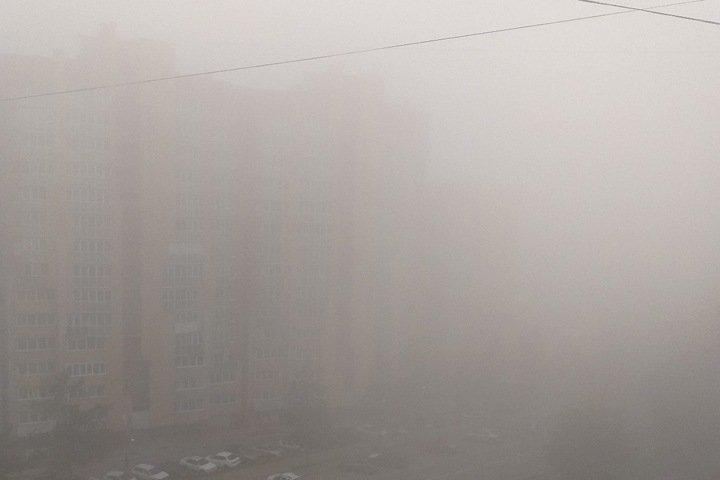 Самолеты не могут сесть в Иркутске из-за дыма от пожаров и тумана