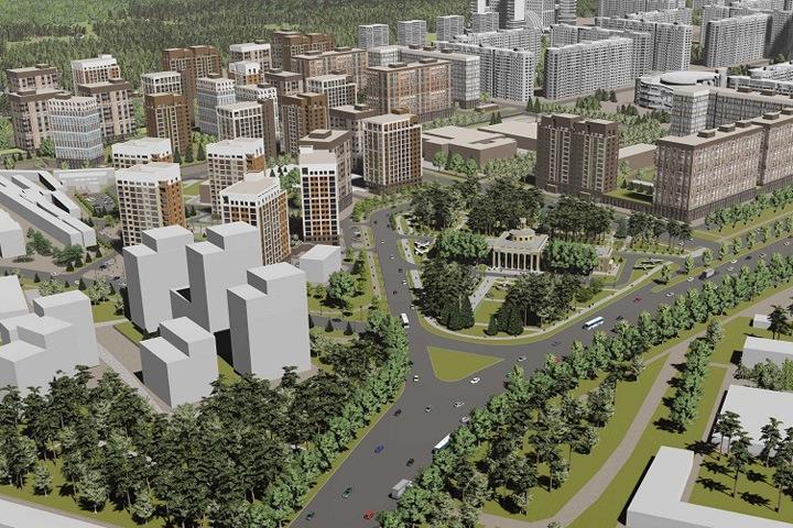 Кузбасская компания застроит в Новосибирске территорию размером с Монако