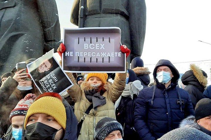 Новосибирская полиция потребовала 2,8 млн у депутата горсовета и экс-депутата Госдумы за январскую акцию протеста