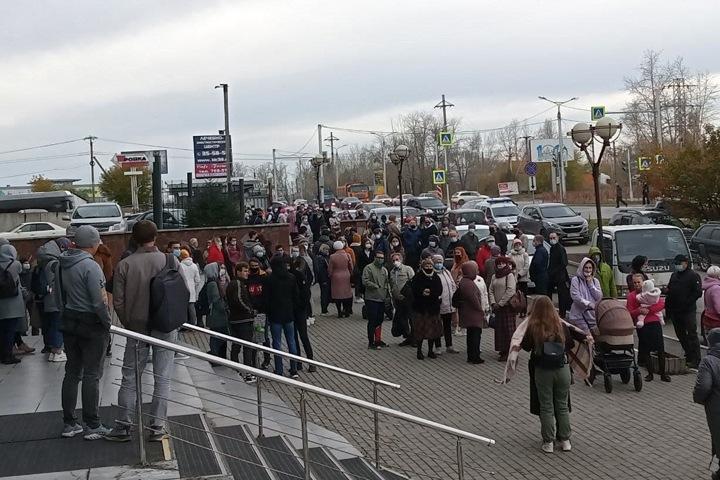 Сотни иркутян потребовали освободить задержанных Свидетелей Иеговы