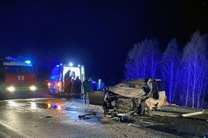 Двое погибли, четверо пострадали в пьяном ДТП под Канском