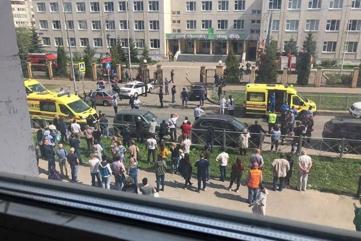 Новосибирским студентам рассказали о готовящемся на одно из образовательных учреждений нападении стрелка